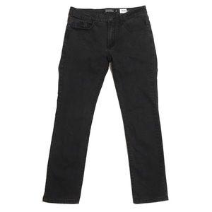 Ezekiel 305 Chopper Black Denim Jeans Size 30 EUC